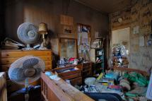 Bedroom Abandoned Time Capsule Hoarder House