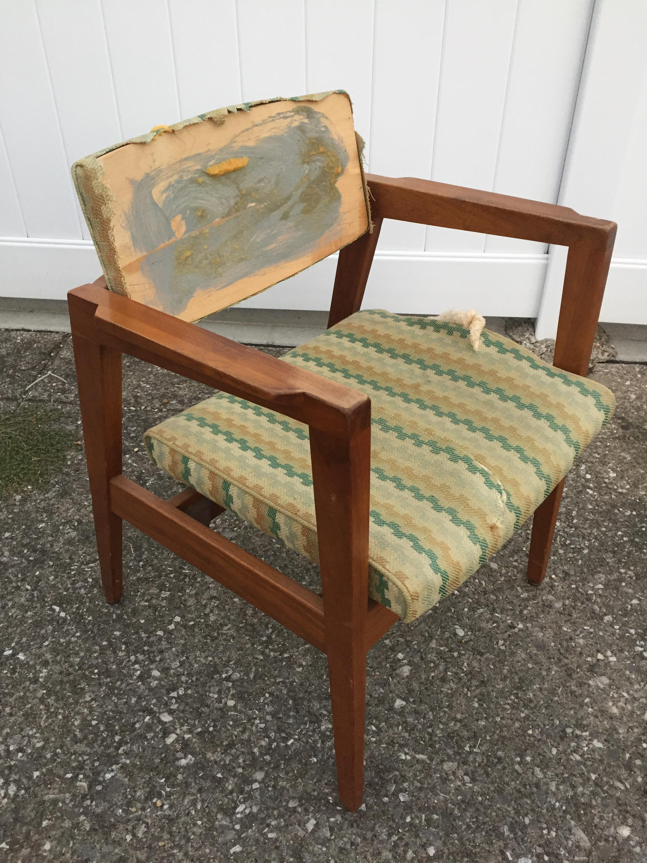 wh gunlocke chair lawn chairs in a bag got this tagged and numbered w h for 10 today