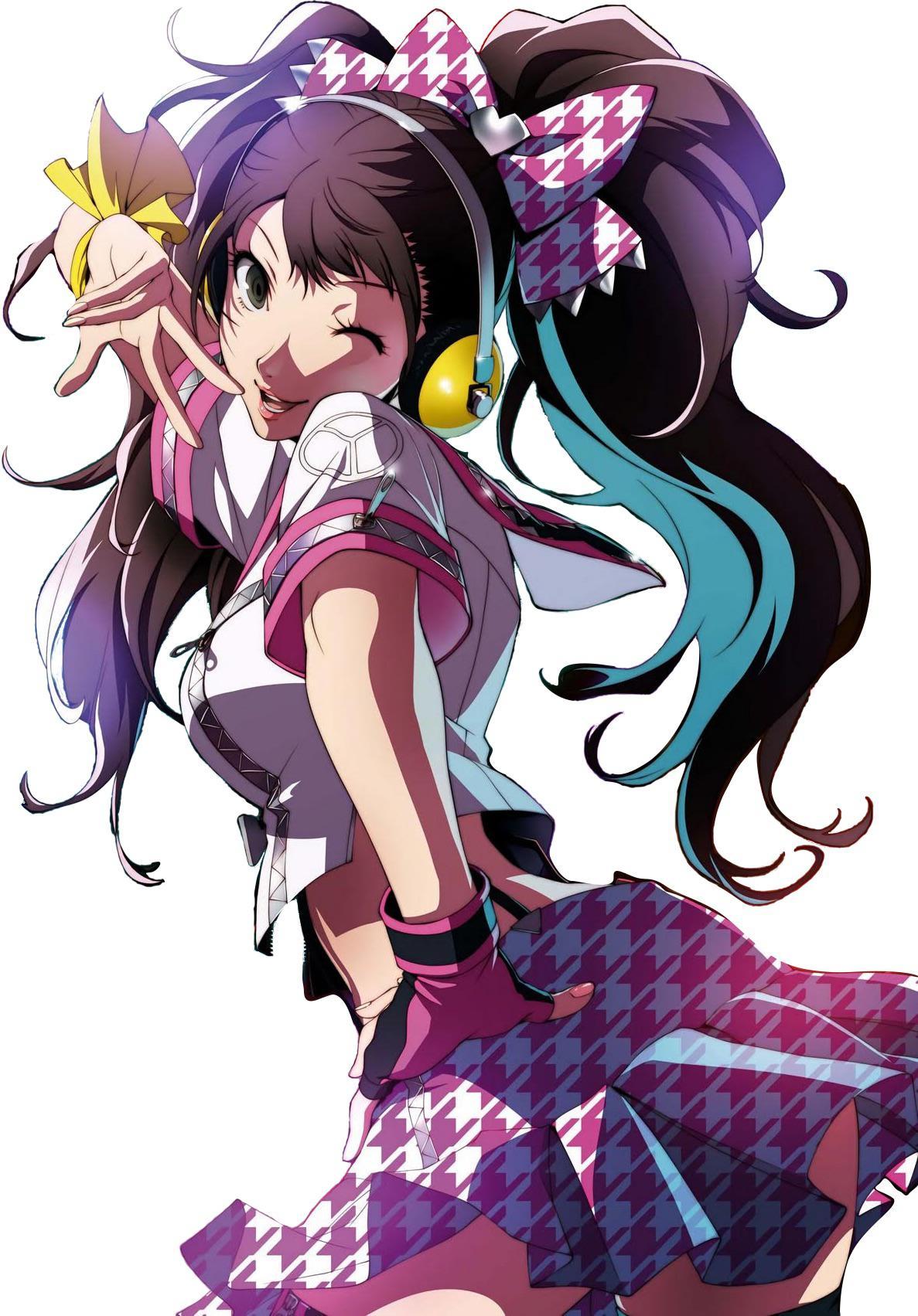 pix Rise Kujikawa Wallpaper render image of rise kujikawa