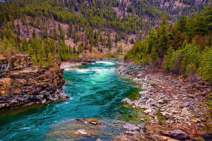 Kootenai Falls, Montana (Photo credit to u/Keepthemlaugingcop) [4096 x 2730]