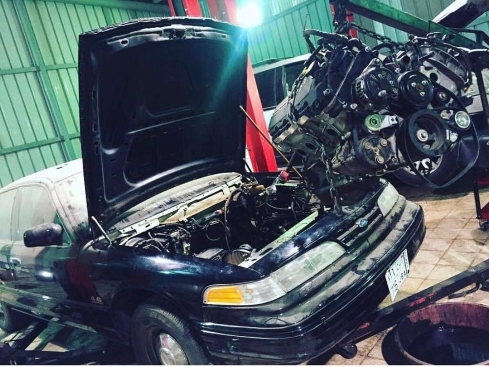 medium resolution of got a coyote 5 0 from a wrecked 15 gt and its going in my 96 crown vic pi got the 6r80 trans and the wiring harness as well