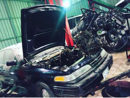 small resolution of got a coyote 5 0 from a wrecked 15 gt and its going in my 96 crown vic pi got the 6r80 trans and the wiring harness as well