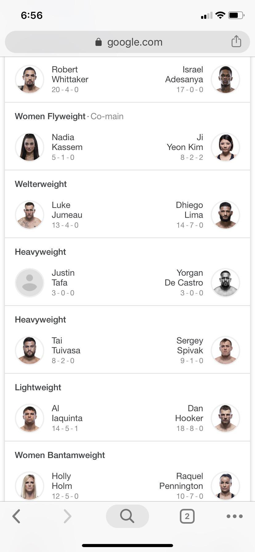 UFC 243 : ufc