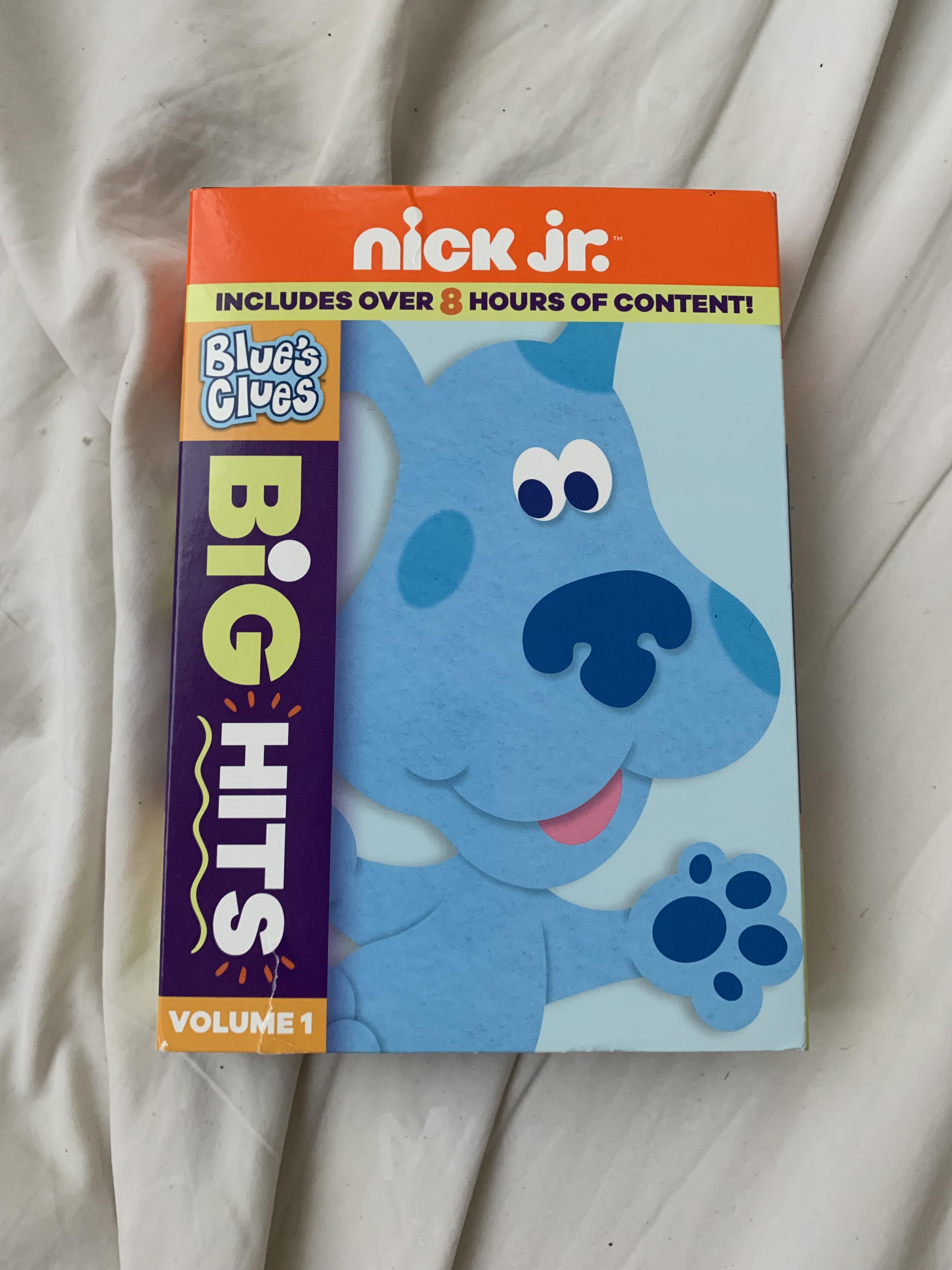 Blue's Clues Season 1 Dvd : blue's, clues, season, Blue's, Clues, Bought, Walmart, Contains, Alphabet, Power,, Takes, School,, Shapes, Colors,, Bluestock,, DVDs., Bluesclues