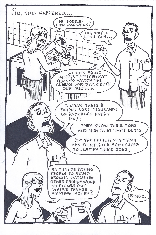 Postal Logic Oc Comics