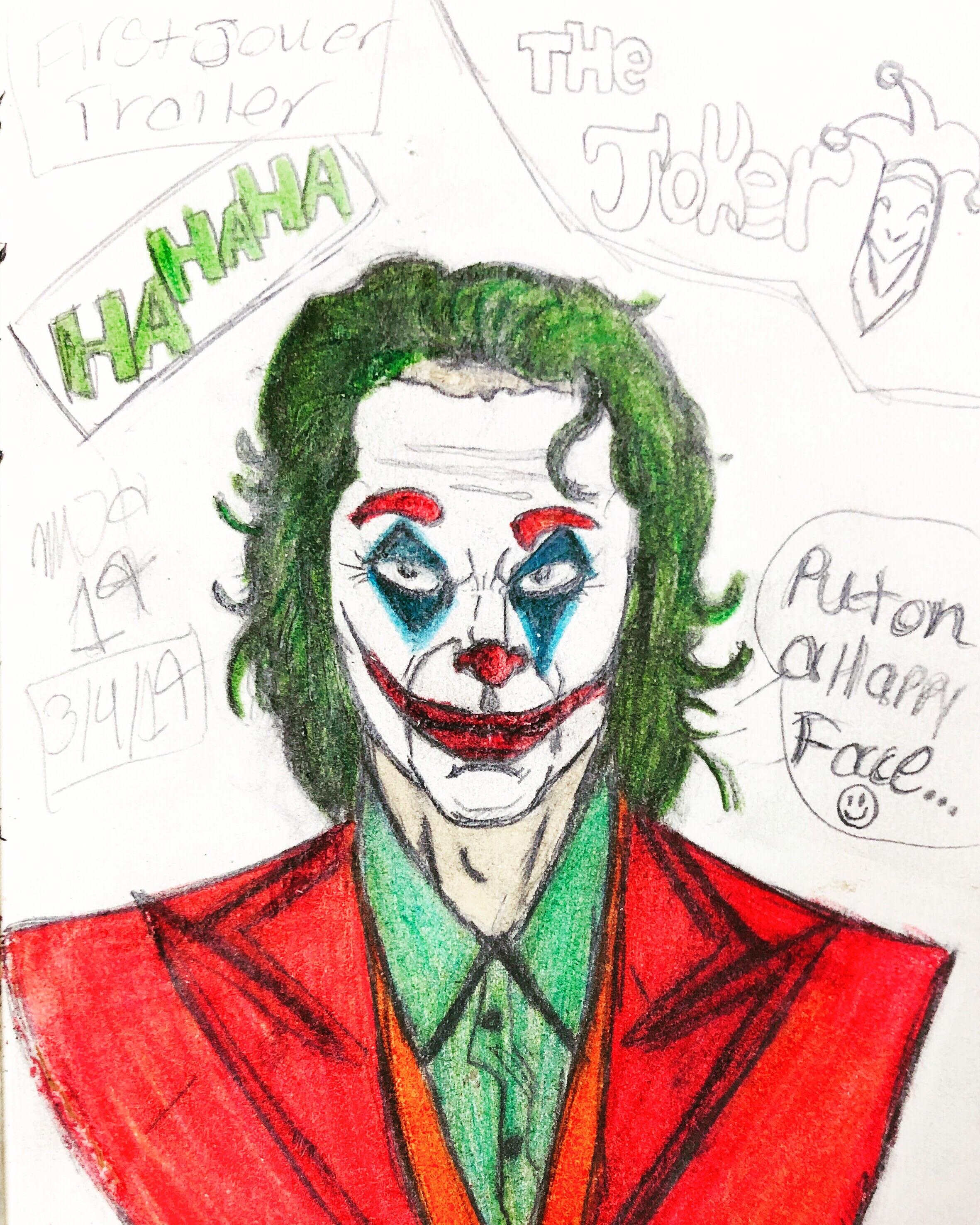 How To Draw Joker Face : joker, Joker, Images, Collection