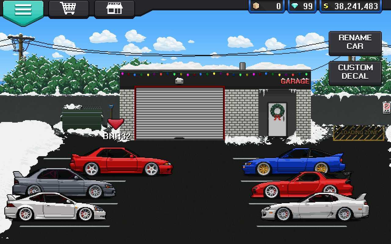 my pixel car racer