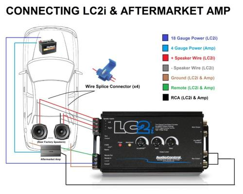 small resolution of noob here so i want to install a lc2i for my sub it is okay if i lc2i wiring diagram