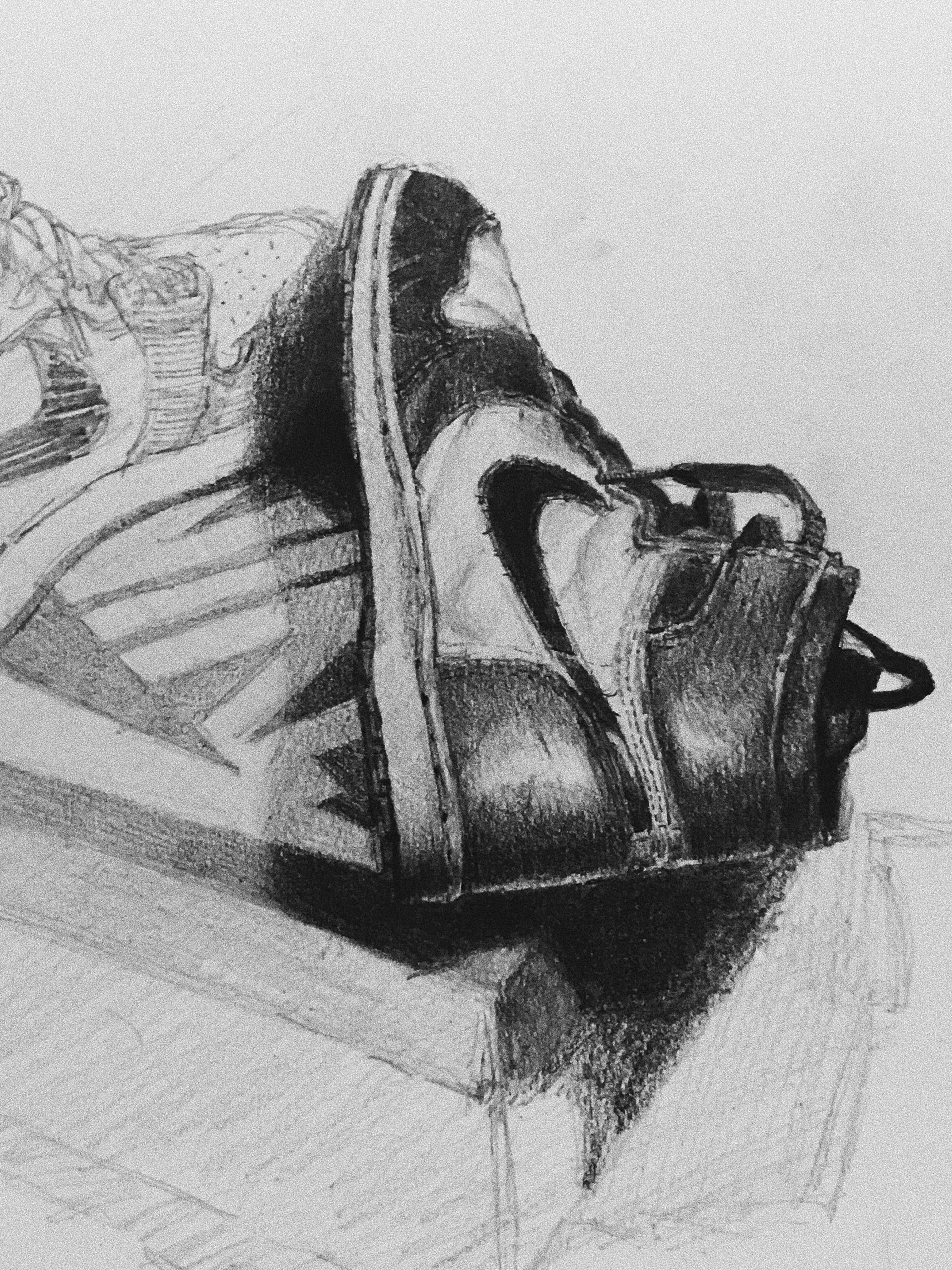 Drawing Jordans : drawing, jordans, Drawing, Jordans, Assignment, Sneakers