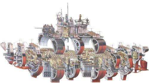 small resolution of type vii u boat cutaway by stephen biesty