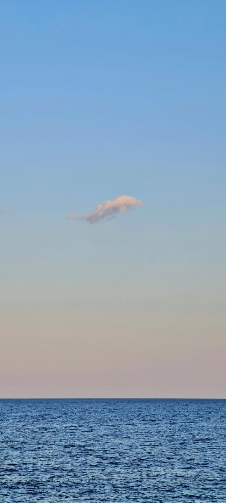 Lonely cloud by me