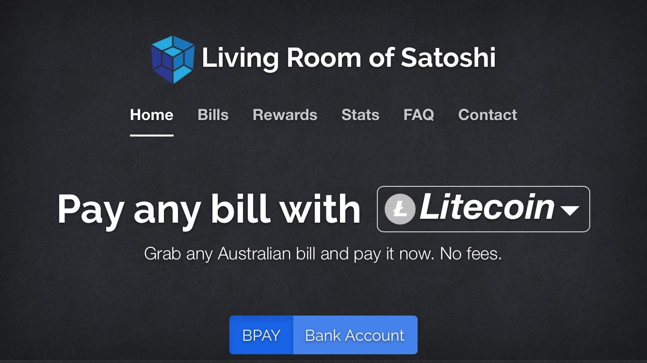 living room of satoshi reddit paint color pictures you can now pay any australian bill instantly with litecoin at