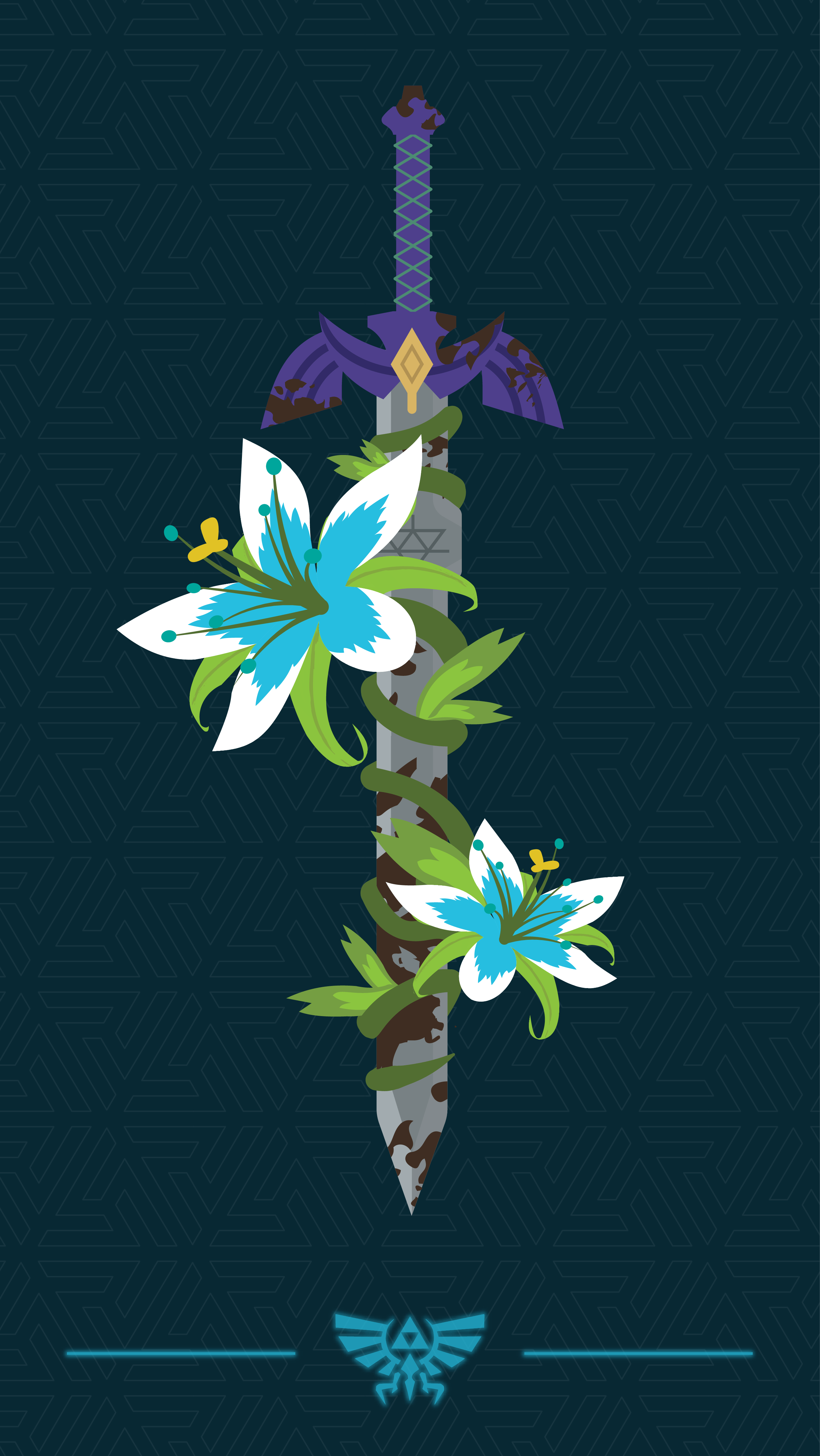 Botw Wallpaper Phone : wallpaper, phone, Poster/phone, Wallpaper, Design, Working, Zelda