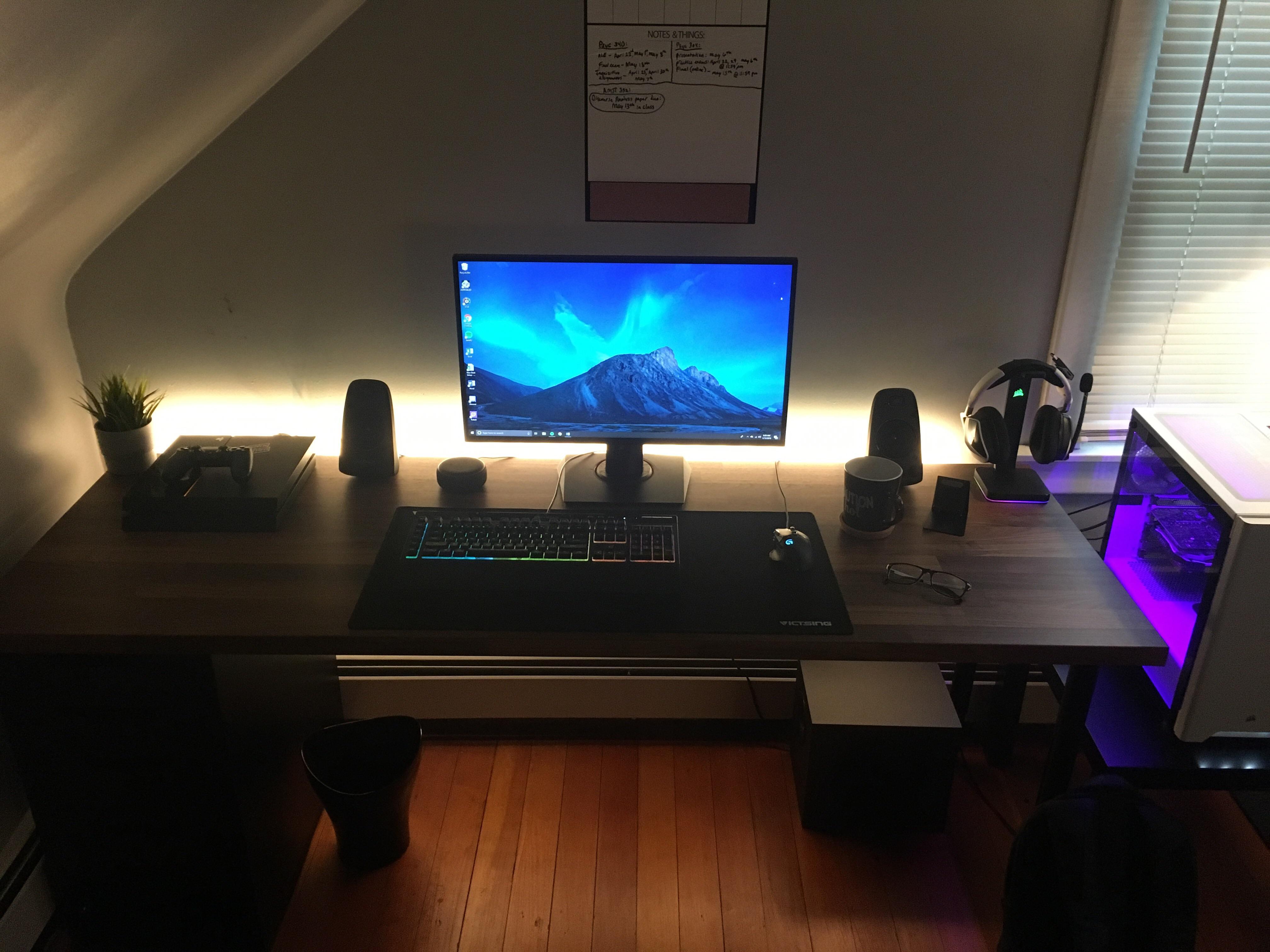 Diy Ikea Desk Build Pcmasterrace