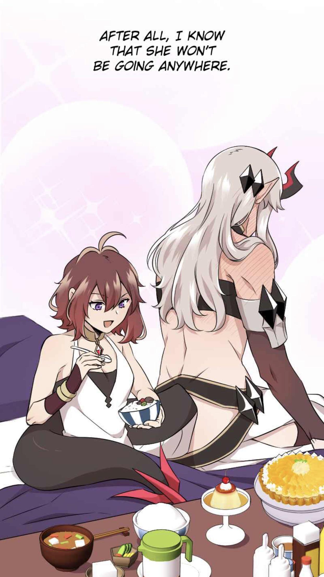 Mage And Demon Queen : demon, queen, [Mage, Demon, Queen], Wholesomeyuri