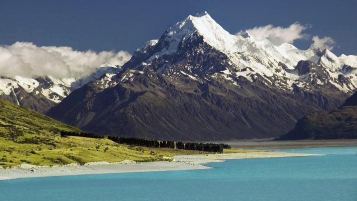 Mountain and Sea Landscape 4K [3840×2160]