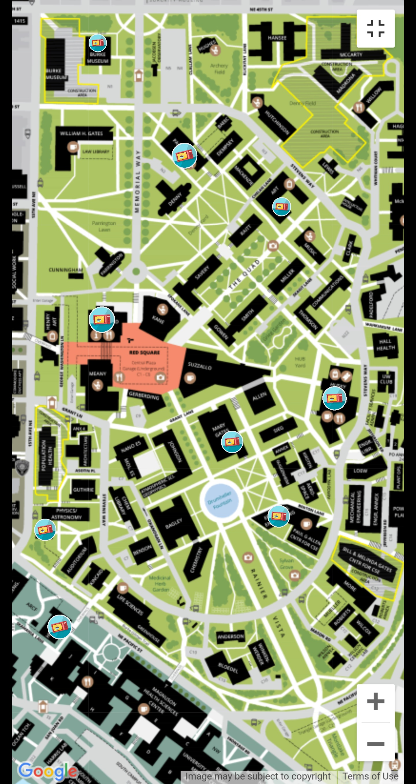 Uw Seattle Campus Map : seattle, campus, Microwaves, Campus, Mentioned, Previous, Threads.