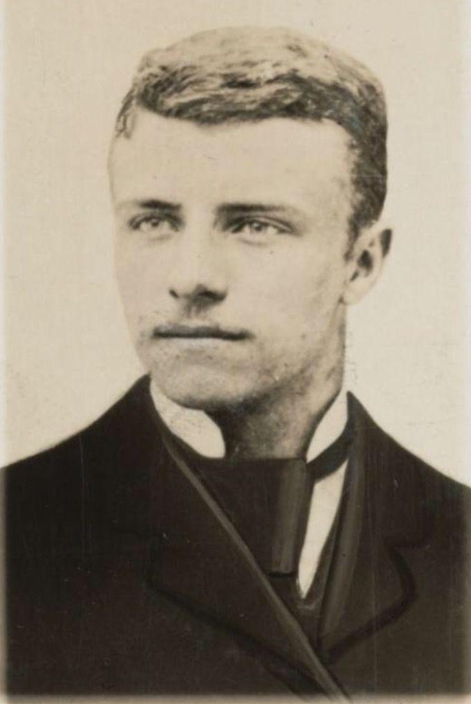 A Young Theodore Roosevelt Looking Dapper 1870s