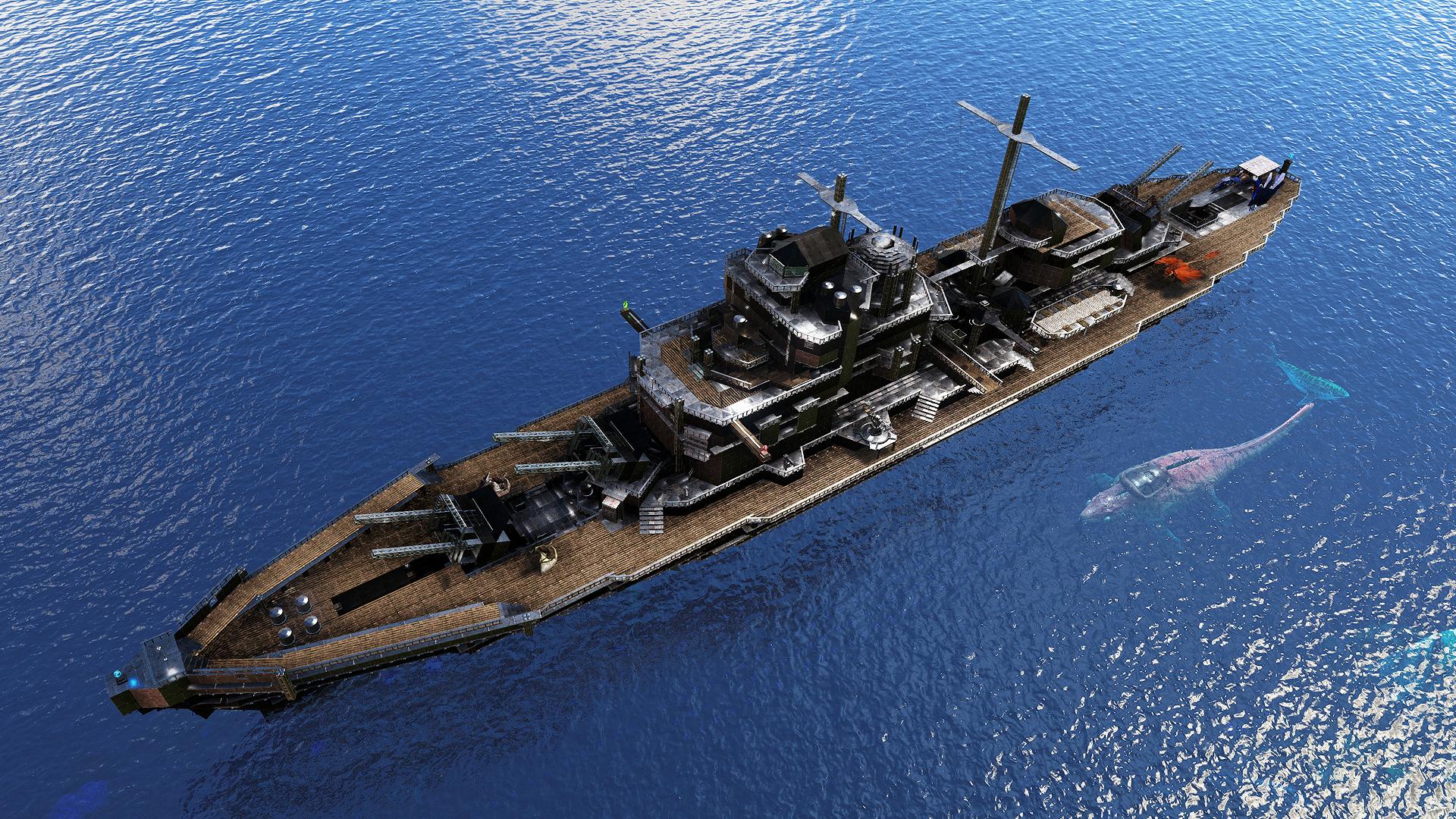 i built a battleship