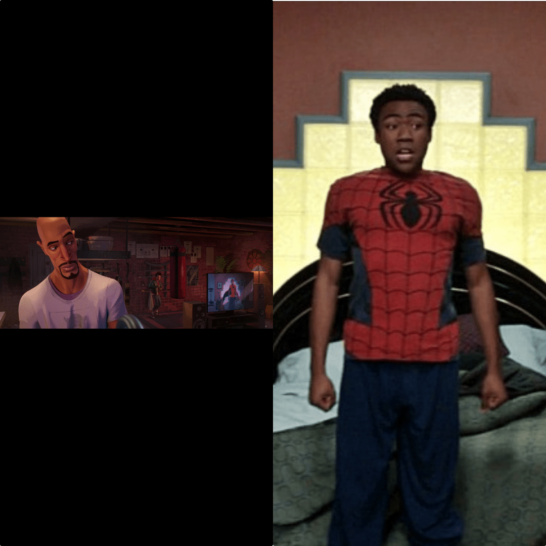 in spider man into