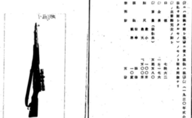 Fedorov Avtomat. Japanese manual on some sniper variant