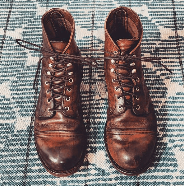 redwing iron rangers after