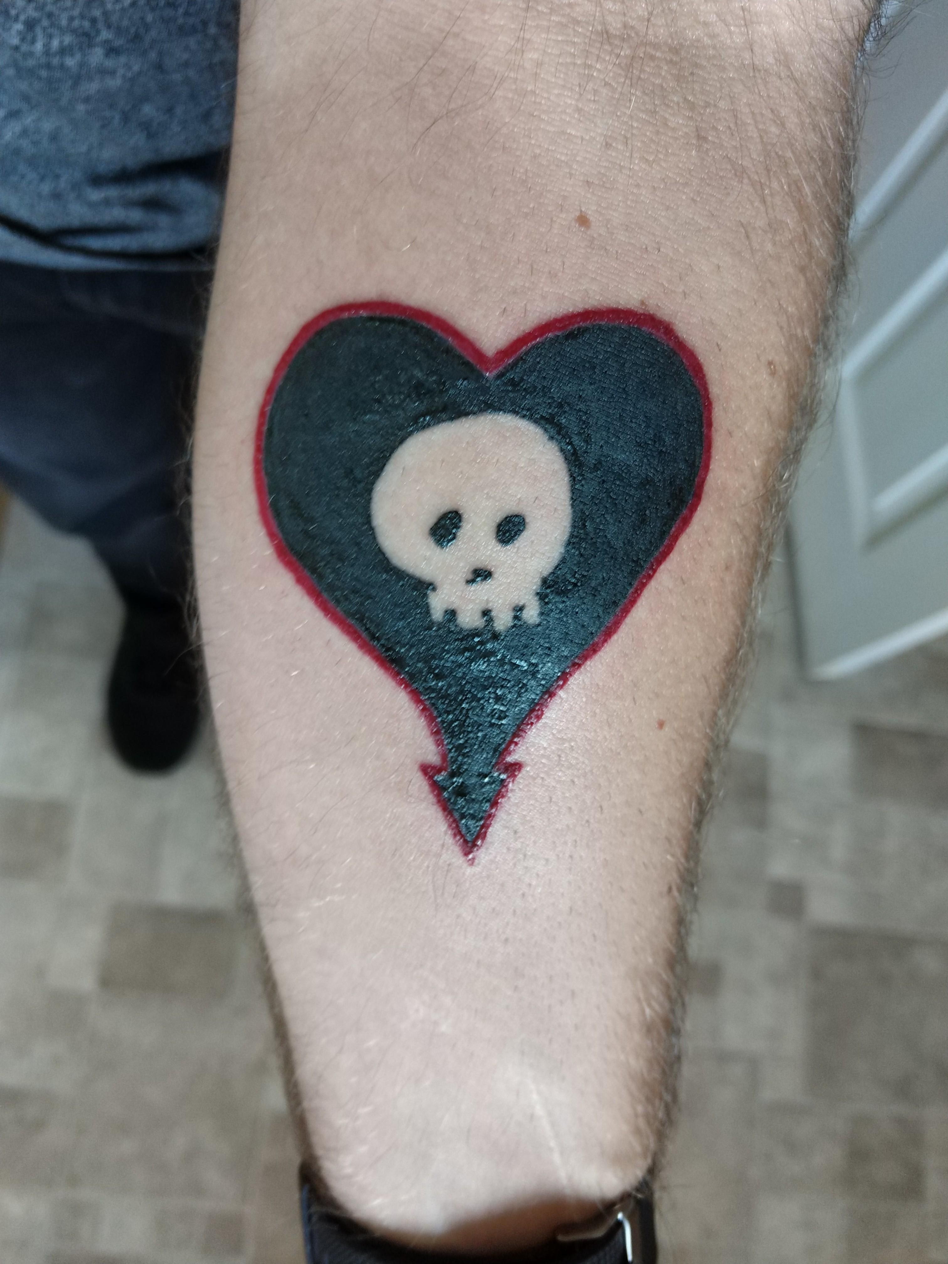got my first tattoo