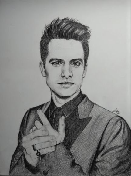 Brendon Urie Drawing : brendon, drawing, Picture, Brendon, Months, Back,, Think?, Drawing
