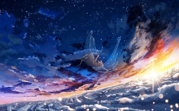 [3840×2160] Falling Angle