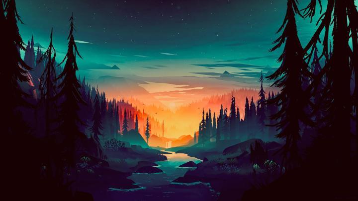 Minimal Forest!(5120×3840)