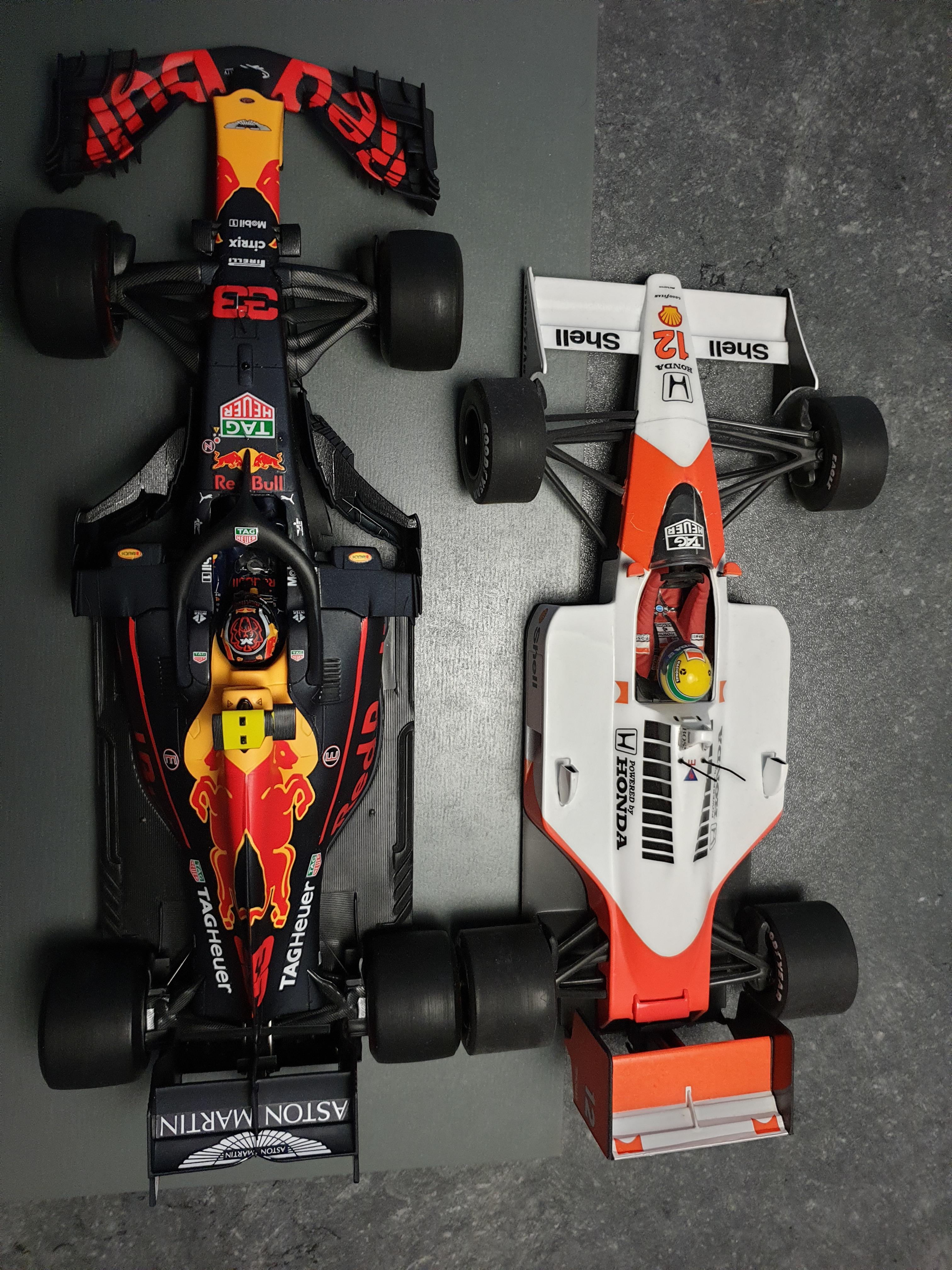 F1 Car Size Comparison : comparison, Since, We're, Comparing;, McLaren, MP4/4, Formula1