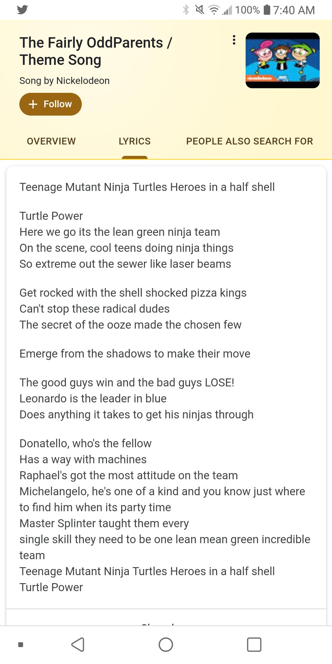 Teenage Mutant Ninja Turtles - Turtles Theme (2003) Lyrics