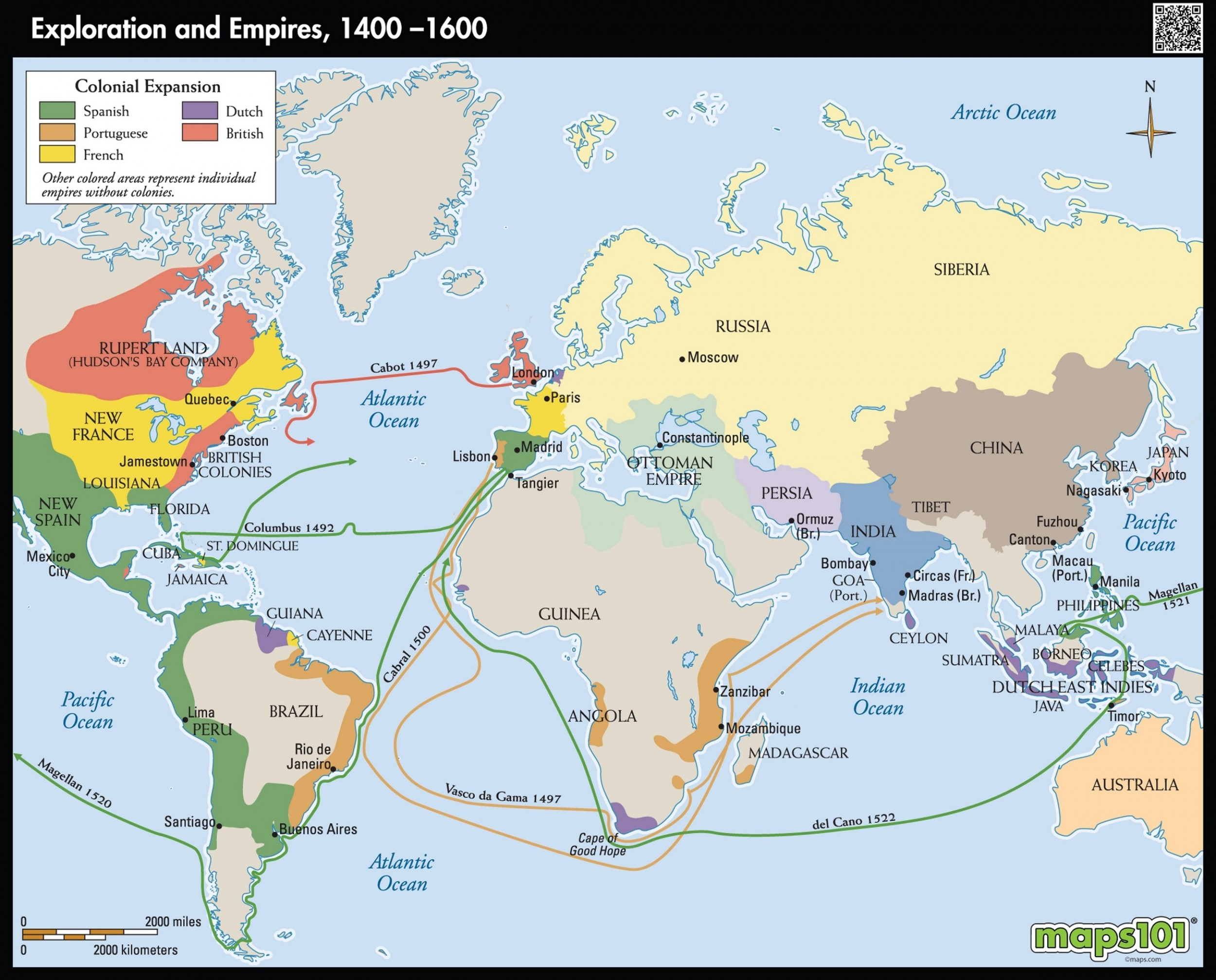 Exploration And Colonization Of European Empires