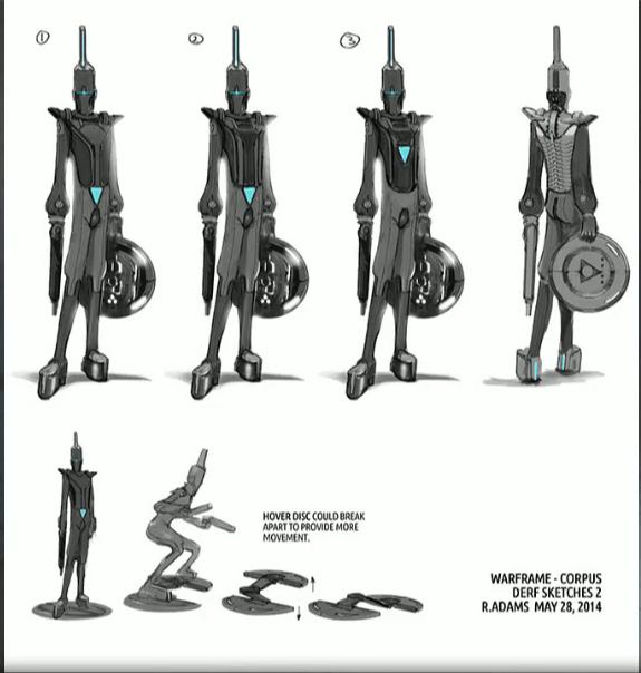 Forgotten Boss Concept Derf Anyo Warframe