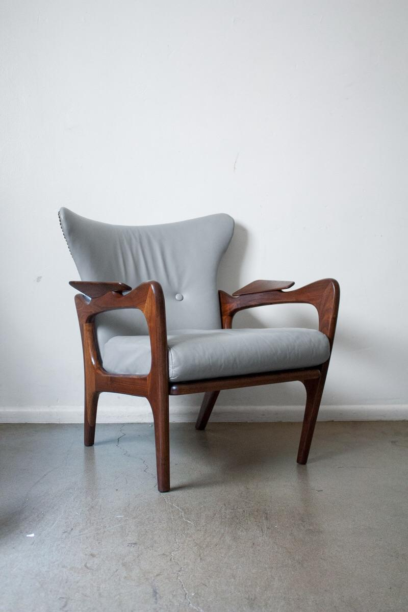 adrian pearsall chair designs office bucket chairs for craft associates model 2291 c mid century