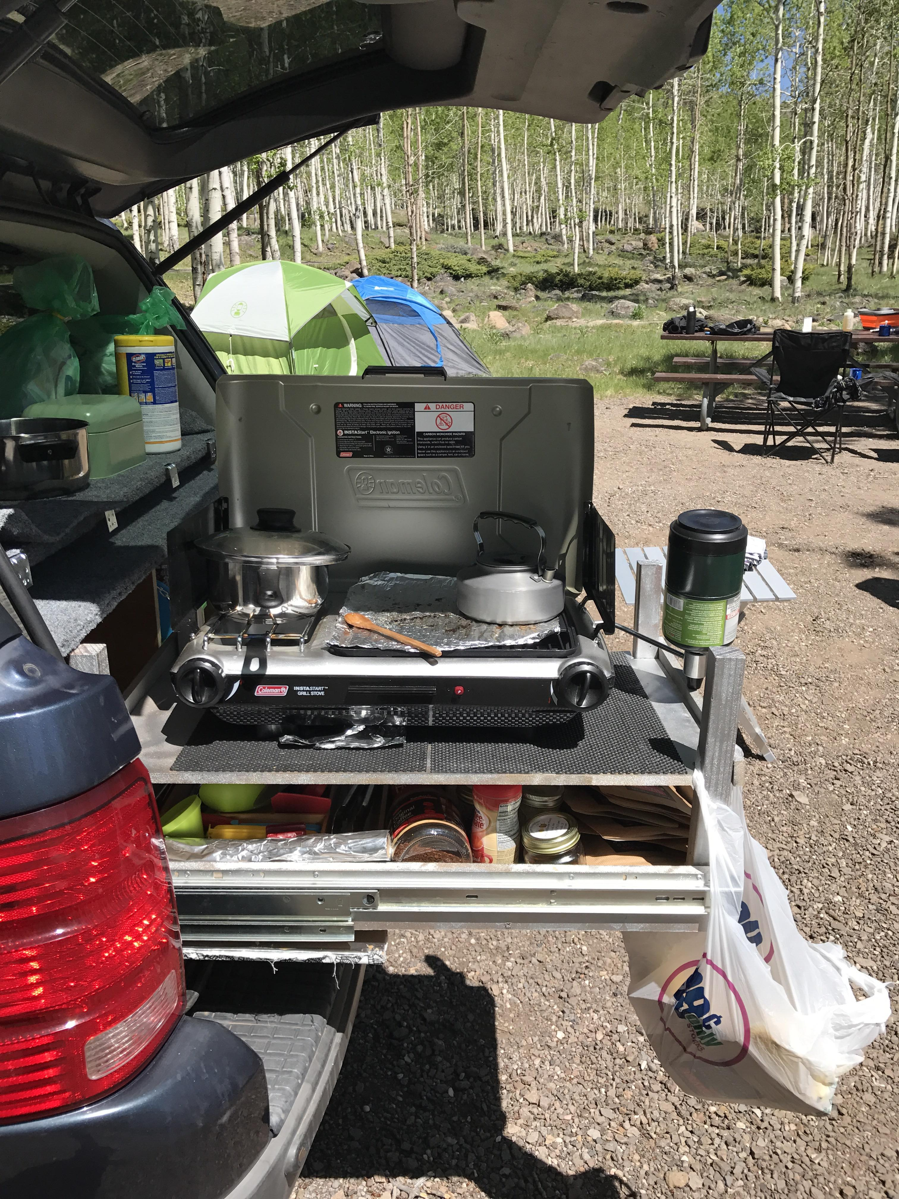 ford explorer camper with