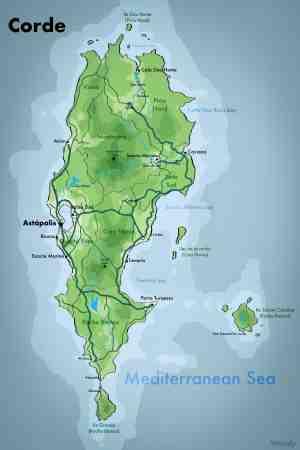 A Map Of A Imaginary Island In The Mediterranean Imaginarymaps
