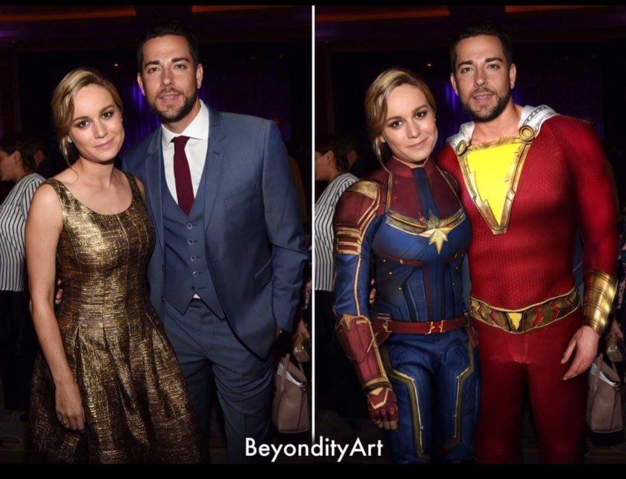 captain marvel meets captain marvel👏🏼😍 : marvelstudios
