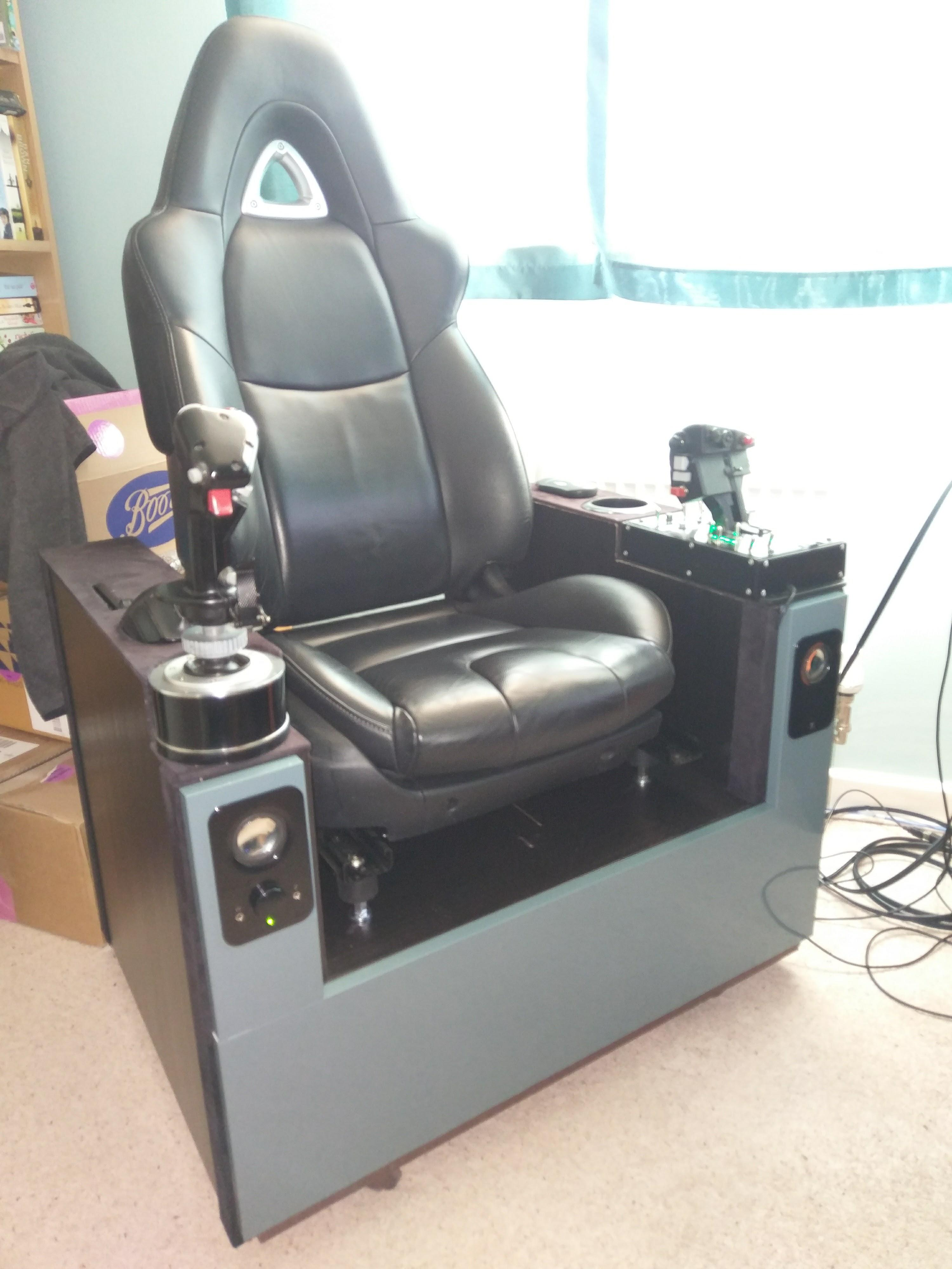 Elite Massage Chair I Built This Hotas Chair Last Year And Recently Trashed It Info