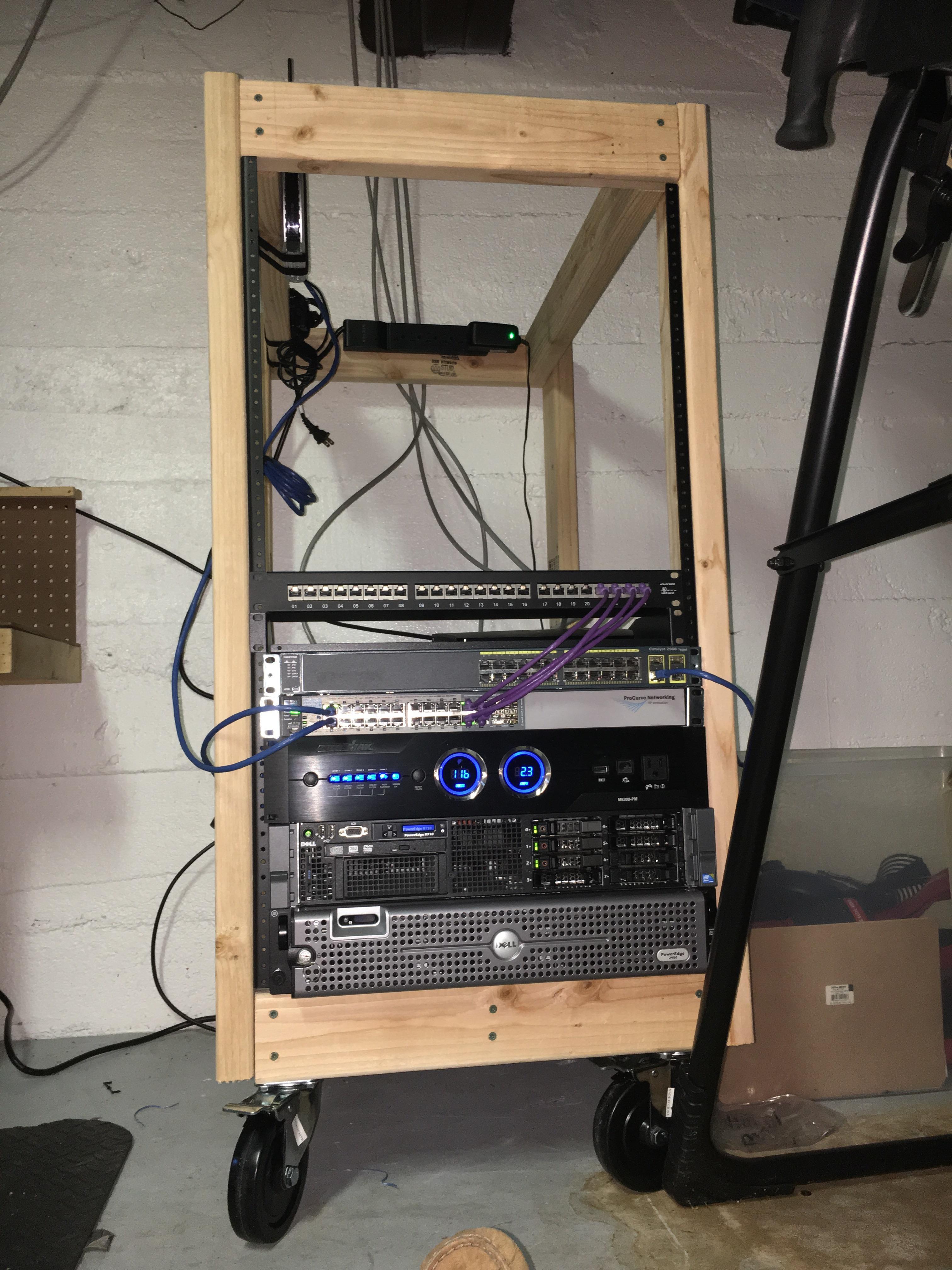 diy rack homelab