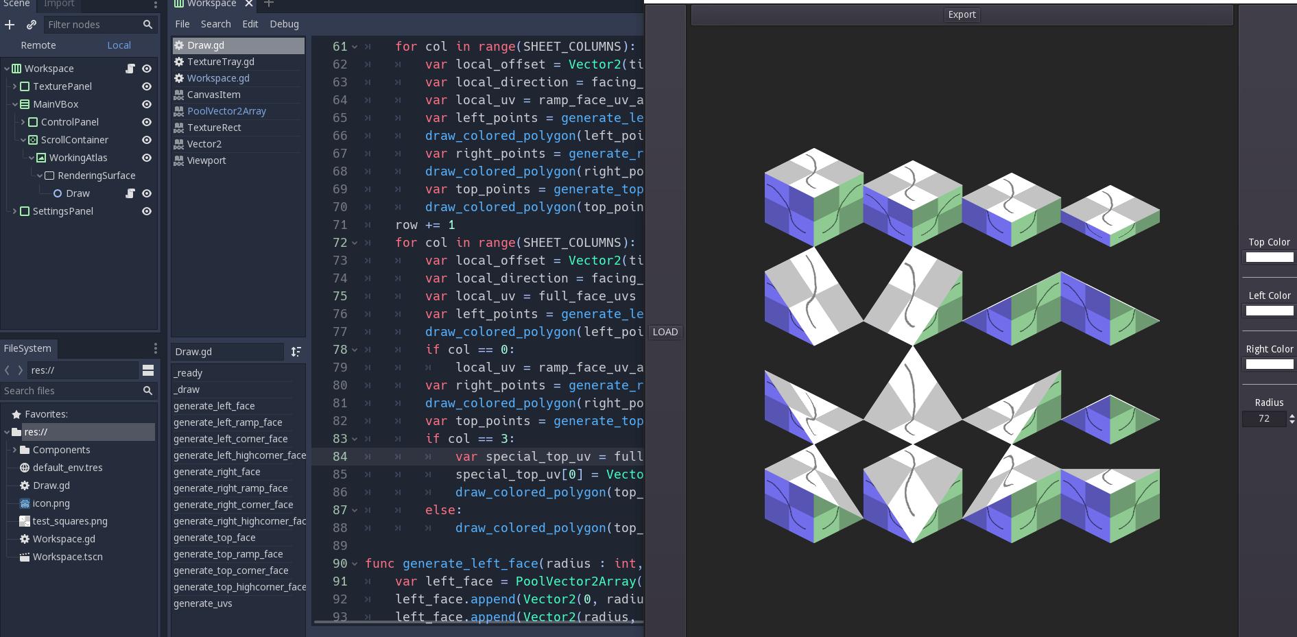 isometric tile generator