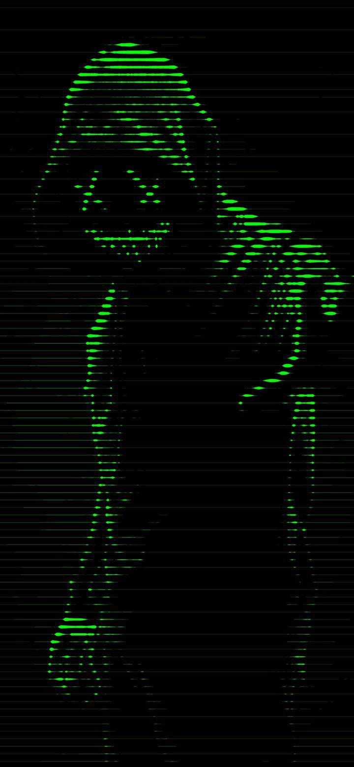 Masked Neon Man