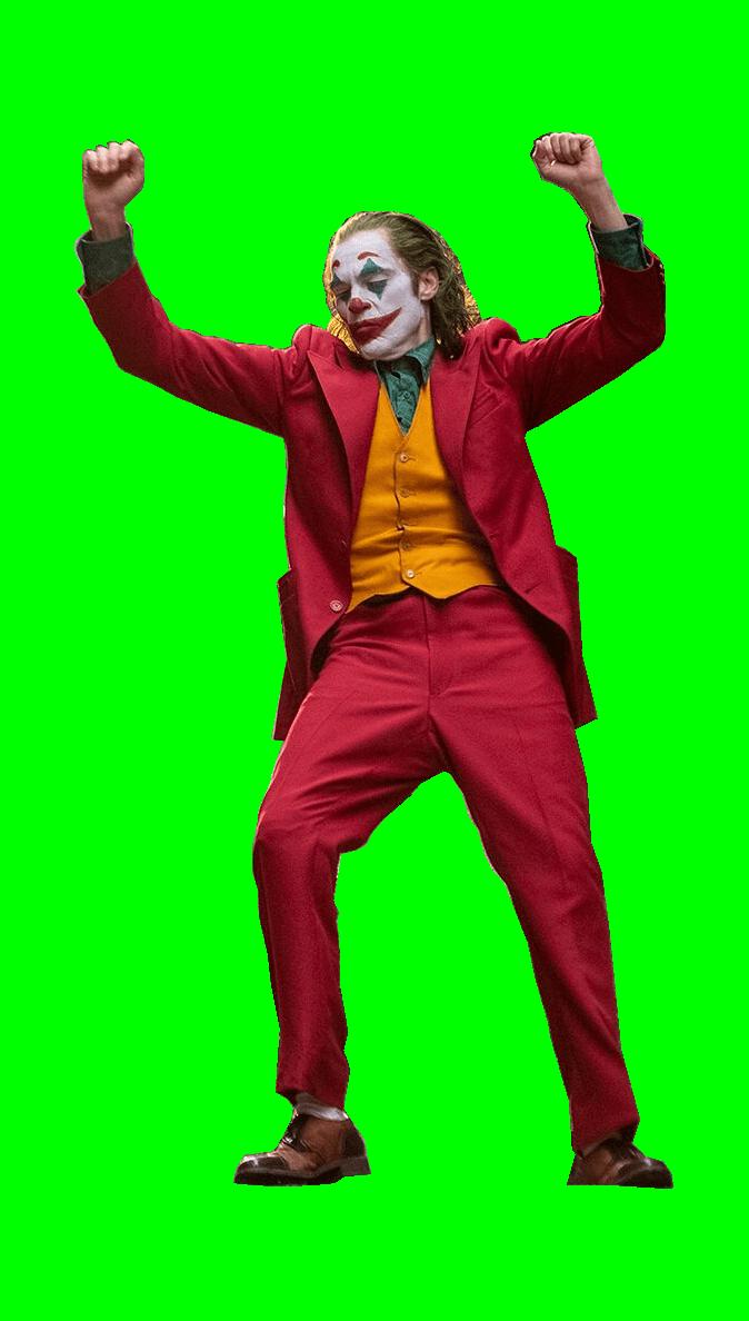 Joker Dancing Meme : joker, dancing, Green, Screen, Dancing, Joker, MemeTemplatesOfficial