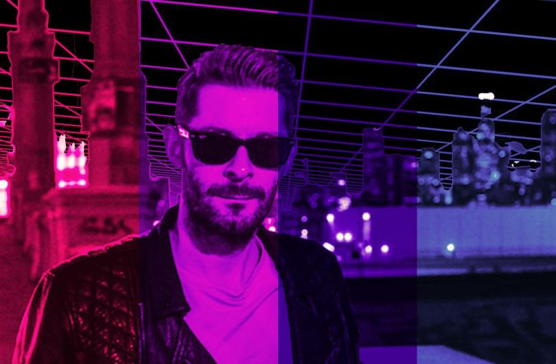 Image result for michael oakley synthwave