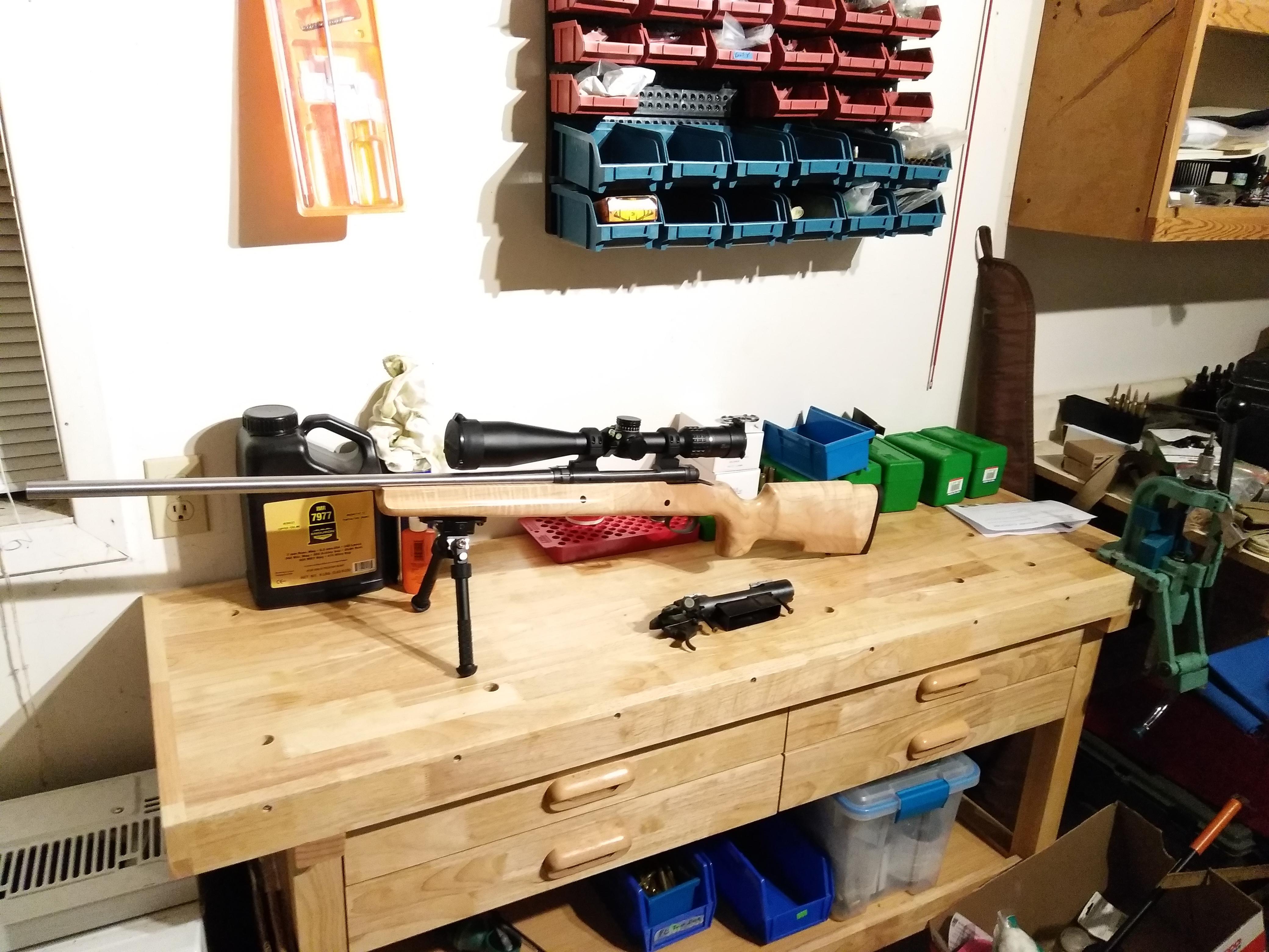 new reloading bench reloading