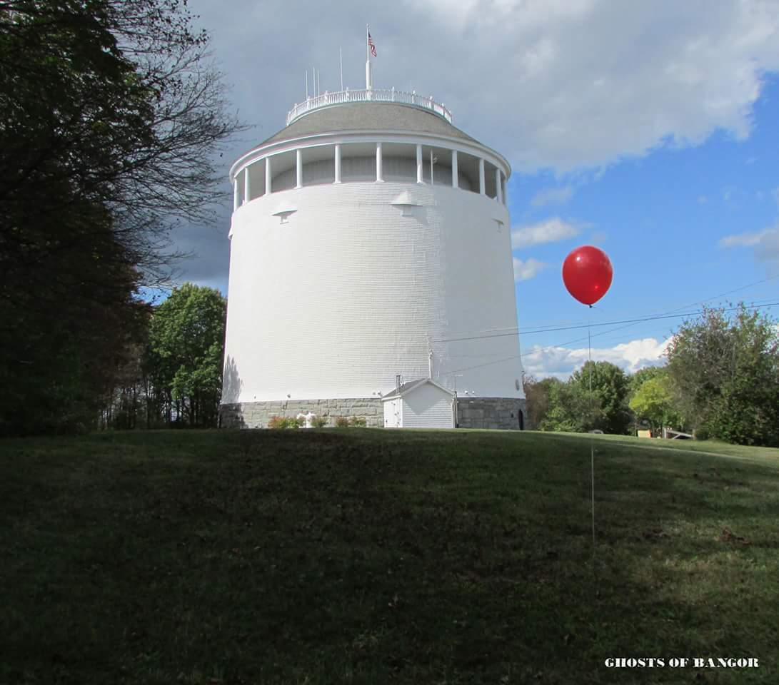 The Real Derry Standpipe Bangor Maine  stephenking