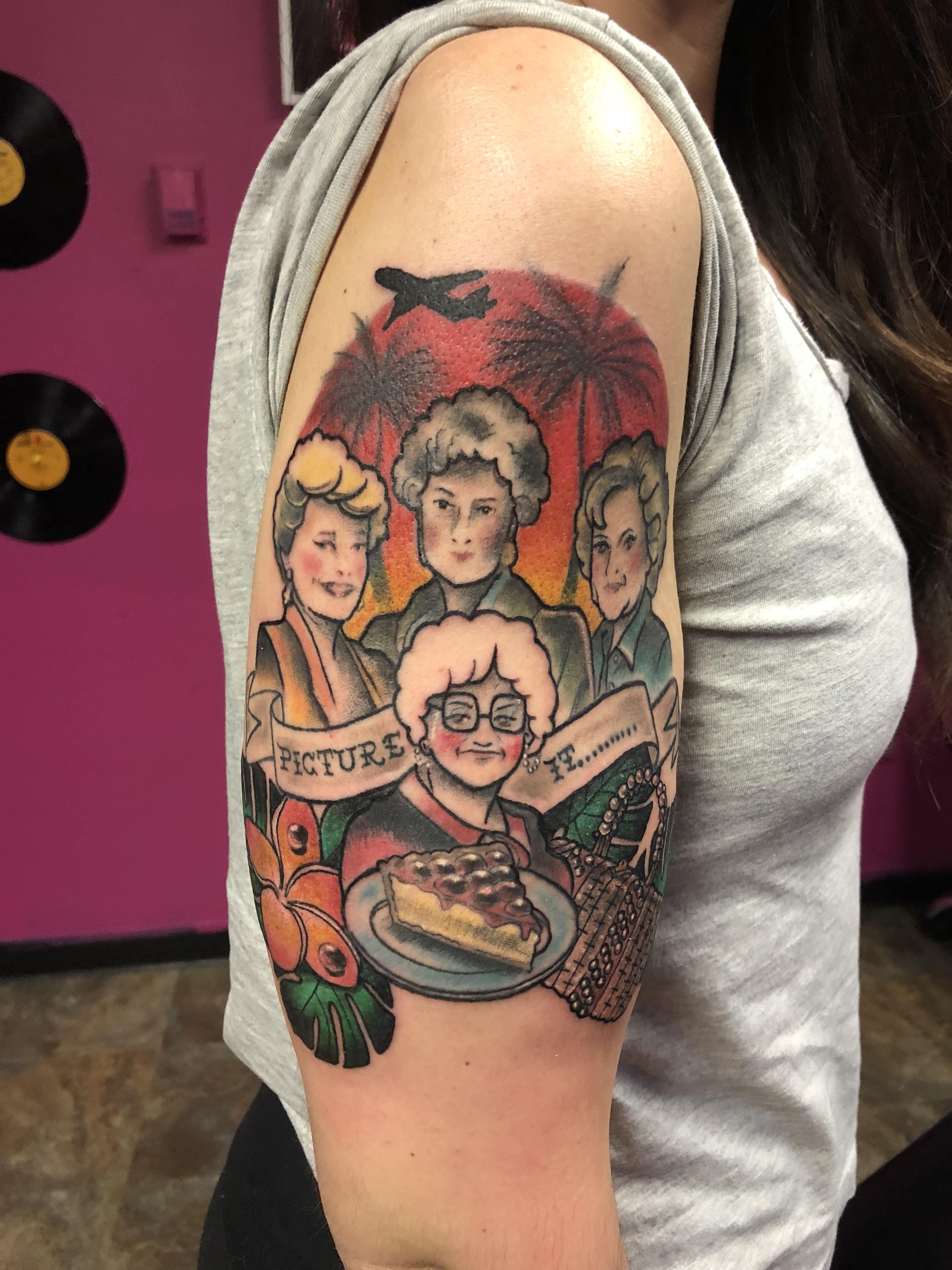 Girls Hands Tattoo