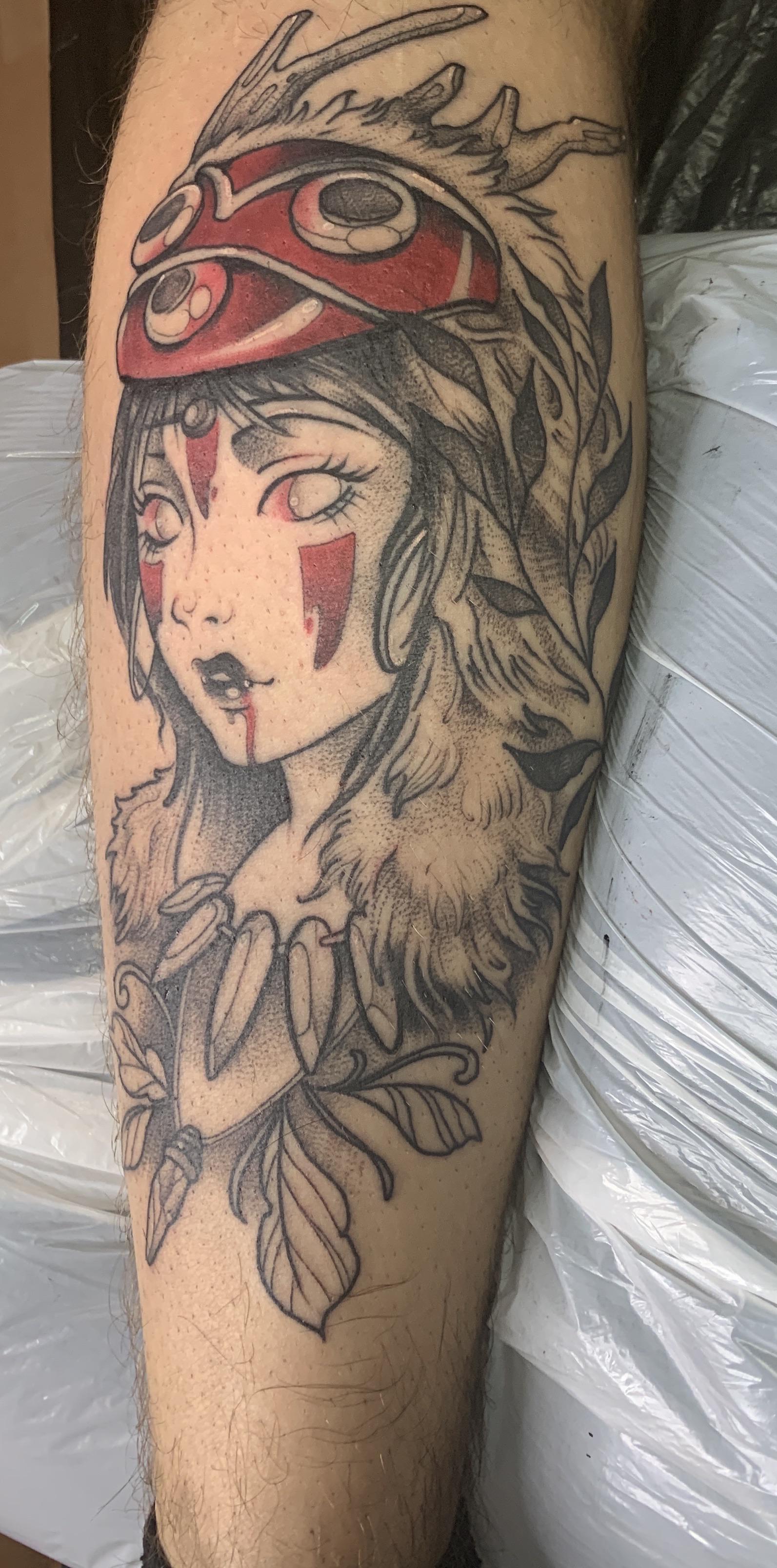 The Best Princess Mononoke Tattoos - Tattoo Insider