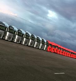 mediaf1 trucks lined up silverstone  [ 1404 x 1404 Pixel ]