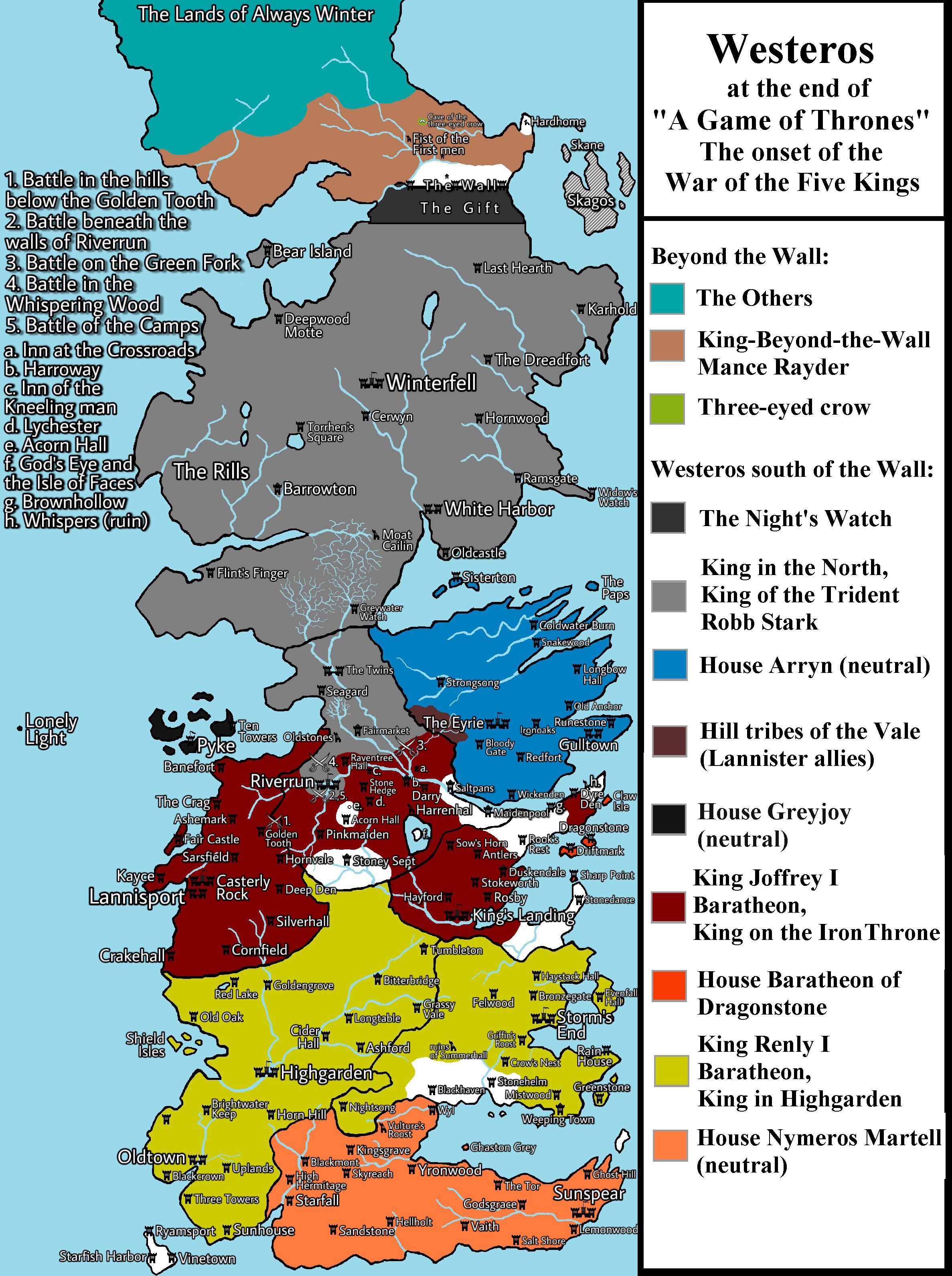 Asoiaf Map : asoiaf, Final, Update, [Spoilers, Main], Asoiaf
